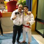 Nicolo' Gambino medaglia di bronzo al Trofeo Alpe Adria Cadetti
